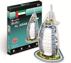 Cubic Fun 3d Puzzle Burj Al Arab DUBAÏ EMIRATS ARABES UNIS Grand