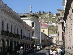 El Panecillo And Virgin Mary Ecuador Quito
