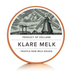 Dutch Cheese Makers Labels Illustrated by Steven Noble on Behance Dairy Packaging, Cheese Packaging, Food Packaging, Packaging Design, Label Design, Logo Design, Dutch Cheese, Cheese Design, Packaging