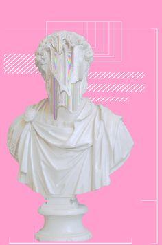 is Radio, rediscovered - Lounge IV: KO Summer ツ () by cinnamonmocha in London Web Design, Graphic Design, Laser Tag, Arte Alien, New Retro Wave, Internet Art, Vaporwave Art, Glitch Art, Aesthetic Art