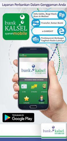 mobile banking sharia brochure design