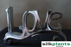 Love, Home Decor, Silk Plants and Decor, Live, Laugh