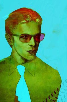 David Bowie R.I.P. by Ben Oliver *: