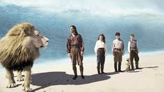 Chronicles of Narnia III: Voyage of the Dawn Treader (Gospel Lessons) Edmund Pevensie, Lucy Pevensie, Cs Lewis, Aslan Narnia, The Silver Chair, Science Fiction, Narnia Movies, Mystery, Prince Caspian