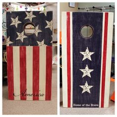 Corn hole boards: Next year's project. Best designs I've seen.