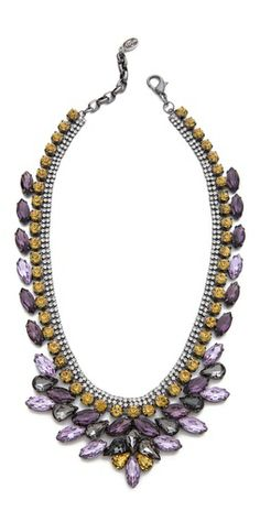 Help her make a statement this holiday season with this Tova Embellished Jeweled Necklace.  #MonaBar #ShopBop #HolidayGifts