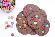 Μπισκότα με Smarties - Συνταγές Μαγειρικής - Chefoulis