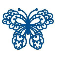 NEW Scalloped Butterfly Die Cutter 9cm x 7.3cm Marianne Design LR0113