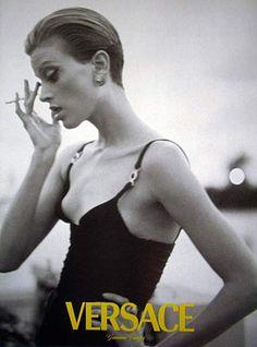 Kristen McMenamy - Versace Spring 1995 - Steve Meisel