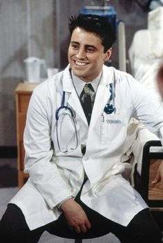 Dr. Drake Ramoray played by Joey Tribbiani played by Matt LeBlanc