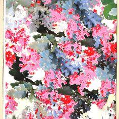 wit satijn katoen met stretch met roze fantasie bloemen italiaans import