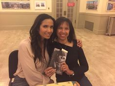 Grabbed a photo with Padma Lakshmi after her talk at Town Hall Seattle on Monday, and gave her some Miss Marjorie's Steel Drum Plantains before she headed out to appear on Ellen DeGeneres. What an inspiring fellow food lover!
