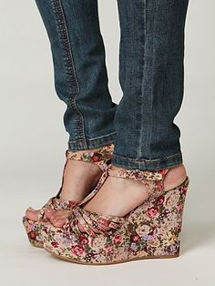 Image result for Bed of Roses Platform shoe