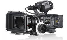 PMW-F55  Super 35mm 4K CMOS sensor compact CineAlta camera records HD/2K/4K on SxS memory plus 16-bit RAW 2K/4K output