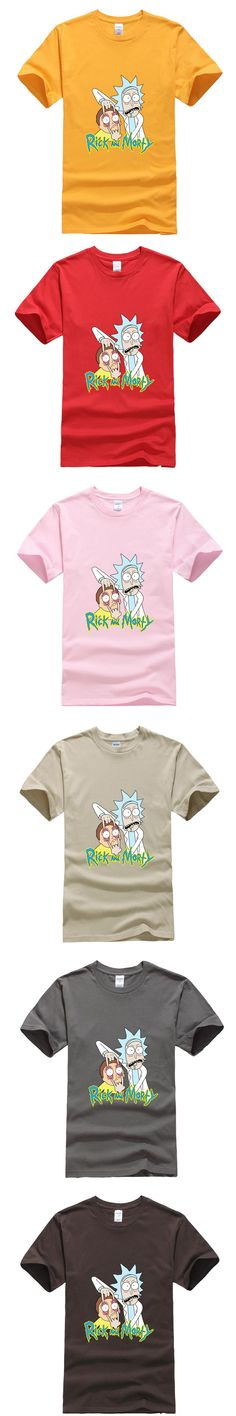 Free rick and morty geek T shirt men women TV tee anime funny t-shirt Cool Rick Morty men Summer Anime B T-shirts
