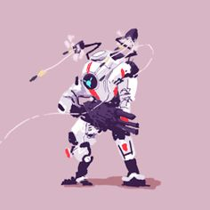 Game Character Design, Character Art, Lego Titanfall, Geeks, Arte Cyberpunk, Video X, Animation Reference, Fantasy Weapons, Video Game Characters