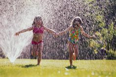 #Summer - the little girl in me wants to run through the sprinkler, too!