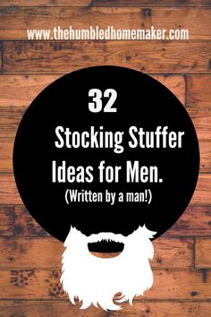Sometimes the men in your life can be difficult to buy for, especially when it comes to filling the infamous Christmas stocking.t really have to be all that difficult. Check out these 32 stocking stuffer ideas for men! Merry Christmas, Christmas Time Is Here, Winter Christmas, All Things Christmas, Christmas Crafts, Christmas Decorations, Christmas Ideas For Men, Christmas Budget, Hygge Christmas