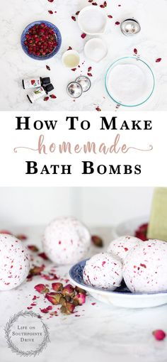 How-to-Make-Homemade-Bath-Bombs, DIY bath bombs, homemade bath bombs, easy DIY b… Wine Bottle Crafts, Mason Jar Crafts, Mason Jar Diy, Diy Beauté, Easy Diy, Diy Crafts, Diy Home Decor Projects, Diy Projects To Try, Craft Projects