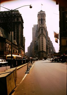 Times Building - Times Square - New York City - 1961