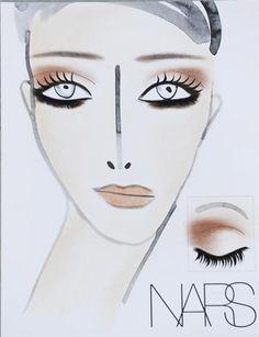 Nars Fall 2013 Makeup Chart