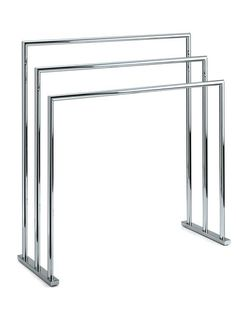 DWBA Freestanding Towel Bathroom Rack Stand Bar 27.5 Inch Towel Holder.  Chrome