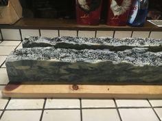 Hawaiian Black Lava Sea Soap!  Just out of the mold, uncut!
