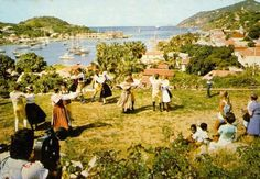 Traditional dance - St Barth 1972 St Barts, France, Dolores Park, Saints, Tropical, Places, Traditional, Travel, Life