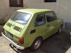 The Fiat 126 estate