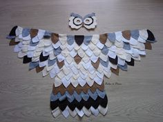 DIY Costume hibou / chouette Diy, Couture, Blanket, Halloween, Party, Costumes, Owls, Owl Punch, Arctic