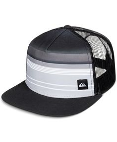 Quiksilver Men's Everyday Stripe Trucker Hat