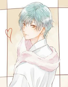 Tsuru, want to take a shower with me? Blue Hair Anime Boy, Handsome Anime, Anime Guys, Anime Love, Boy Art, Manga Boy, Cute Anime Character, Rolo, Ichi