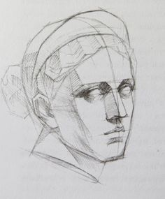 Russian Academy of Arts drawings ile ilgili görsel sonucu Human Face Drawing, Drawing Heads, Body Drawing, Life Drawing, Figure Drawing, Drawing Reference, Painting & Drawing, Human Face Sketch, Anatomy Sketches
