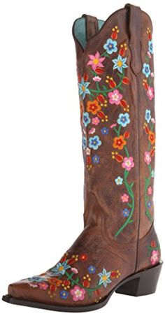 Stetson Women's Flora Riding Boot, Brown, 10 D US *** For more information, visit image link.