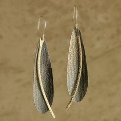 Golden Path Earrings