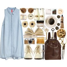 skinny love by meloissa on Polyvore featuring H&M, Wet Seal, The Row, Rock 'N Rose, Illesteva, Korres, Burt's Bees, Aesop, Farmaesthetics and Home Decorators Collection