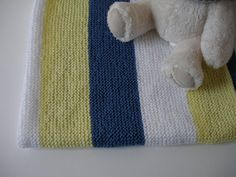 Check out this item in my Etsy shop https://www.etsy.com/listing/400330355/hand-knitted-striped-baby-blanket-sale