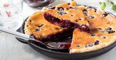Recette de Gâteau à la poêle aux groseilles. Facile et rapide à réaliser, goûteuse et diététique. Ingrédients, préparation et recettes associées.