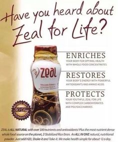 Have you heard about Zeal for Life? If not, let me tell you about it!www.tickettyboo.zealforlife.com