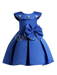 Toddler Pageant Dresses Big Bow Bridesmaid Wedding Dress For Girls is cheap, come to NewChic and buy cute flower girl dresses now! African Dresses For Kids, Latest African Fashion Dresses, Little Girl Dresses, Girls Dresses, Party Dresses, Wedding Dresses, Toddler Princess Dress, Princess Gowns, Princess Party