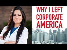 Why I Left Corporate America Corporate America, I Quit, Boss Lady, Entrepreneurship, Minimalism, Youtube, Life, Youtube Movies