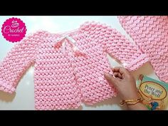 Crochet Baby Cardigan Sweater Yarns 21 Ideas You are in the right place about stricke Cardigan Bebe, Crochet Baby Cardigan, Crochet Baby Clothes, Crochet Baby Hats, Crochet For Kids, Baby Knitting, Knit Crochet, Sweater Cardigan, Free Knitting