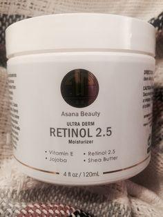 Asana Beauty Ultra Derm Retinol Moisturizer (full review at link)