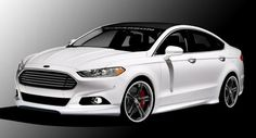 Ford Shows Four Tuned 2013 Fusion Sedans for SEMA - Carscoop