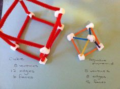 Some great hands-on Geometry ideas - kinesthetic learning helps bring abstract ideas to life.