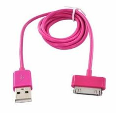 Amazon – Hot Pink iPhone Charger only $2.00 shipped!