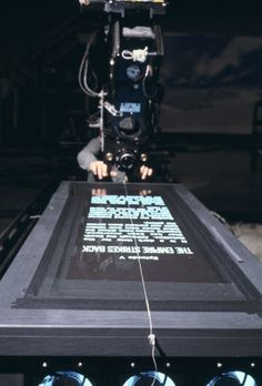 Star Wars title sequence