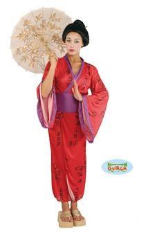 Bienvenue au Japon, le pays du soleil levant ! En effet, ce costume imite parfaitement la tenue traditionnelle des japonaises. Konya wa tanoshiku yarou !! (amusons-nous ce soir !)