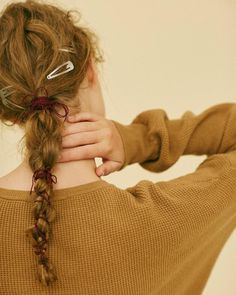 「・ my work☺︎ ・ ・ ヒモアレンジ ・ #magazine#GISELe#11月号#凝らないアレンジ#hairmake#きべメイク#きべヘアー」