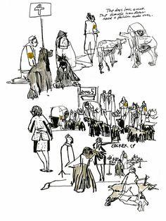 Urban Sketchers: Melanie Reim